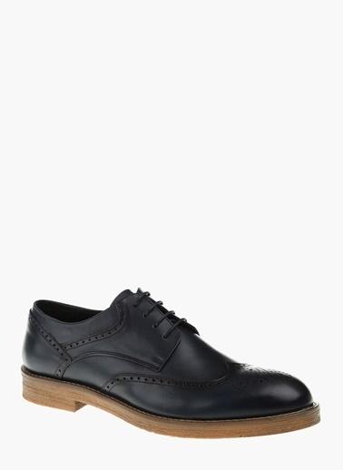 Divarese Deri Oxford Ayakkabı Lacivert